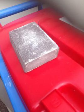 angled flat sanding block